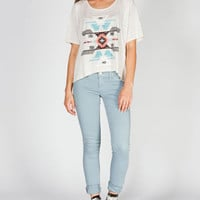 HIP Tribal Womens Hi Low Tee