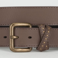 Stud Keeper Faux Leather Belt