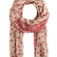 DEGRADE POLKA-DOT FOULARD