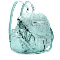 MARTI METALLIC LEATHER BACKPACK