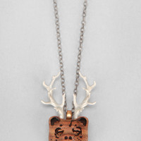 Omerica Organic Bear Necklace  - Urban Outfitters