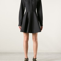 STELLA MCCARTNEY pinstripe blouse dress