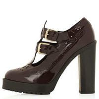 SOULFUL DOUBLE BUCKLE PLATFORM