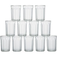 Set of 12 large working glasses. 21 oz.