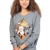 The Kitty Purr Raglan