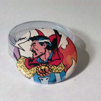 Comic Book 1.5 Button// Doctor Strange