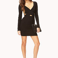 Daring Cutout Bodycon Dress