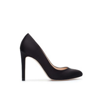SILK SATIN HIGH HEEL COURT SHOE