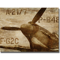 Dylan Mathews 'Vintage Propeller' Canvas Art