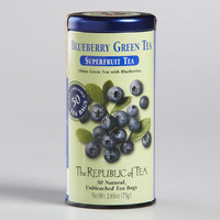 The Republic of Tea Blueberry Superfruit Tea, 50-Count
