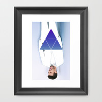 Experimentation Framed Art Print by ProfileDesign