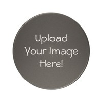 Upload-Your-Own-Photo Sandstone Coasters (Round)