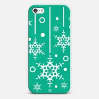 Let it Snow Emerald iPhone & iPod case by Lisa Argyropoulos | Casetagram