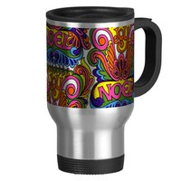 RETRO SIXTIES CHRISTMAS MUG