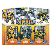Skylanders Giants Legendary 3-Pack - Ignitor, Slam Bam, and Jet-Vac