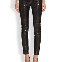 Emily Sequin Front Pants