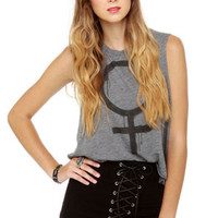 Tripp NYC High-Waisted Black Corset Shorts