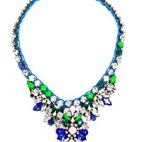 SHOUROUK | Theresa Crystal Embellished Necklace | Browns fashion & designer clothes & clothing