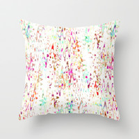 Mix #519 Throw Pillow by Ornaart