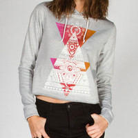 FULL TILT Tribal Triangle Womens Hoodie