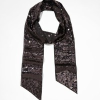 SEQUINED OBLONG SCARF