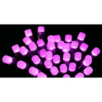 Frosted LED Pink Christmas Lights | Outdoor Frosted LED Lights | Indoor Frosted LED Lighting | Premier Indoor Outdoor Frosted LED Christmas Lights