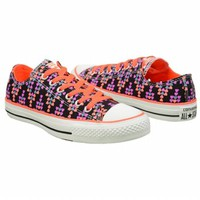 Athletics Converse Women's CT All Star Lo Black/Multi FamousFootwear.com