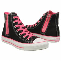 Athletics Converse Women's CTAS Side Zip Black/Ko Pink FamousFootwear.com