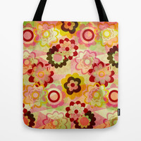Colorful MIX Tote Bag by Louise Machado