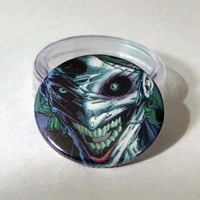 Comic Book 1.5 Button// Joker