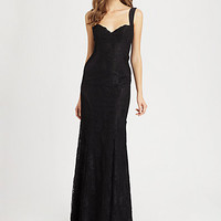 Silk Fishtail Gown