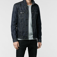 Mens Kumo Denim Jacket (Indigo) | ALLSAINTS.com