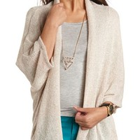 LIGHTWEIGHT KNIT OPEN CARDIGAN