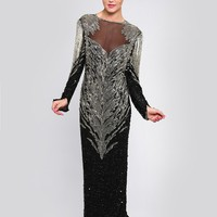ALIZA BEADED MAXI DRESS