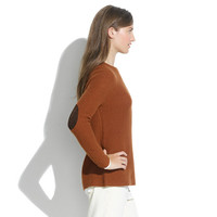 Elbow-Patch Stadium Sweater