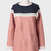 Worked Like A Charm Textured Sweater