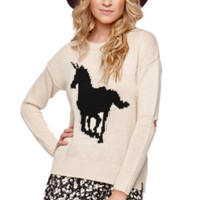 Lira Unicorn Sweater at PacSun.com