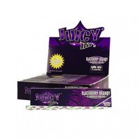 Juicy Jay's Blackberry Brandy King Size Slim Rolling Papers - Single Pack - Hemp Papers - Rolling Papers & Blunts - Rolling Accessories - Grasscity.com