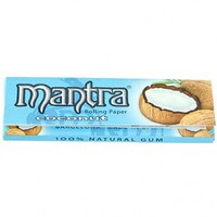 Mantra Regular Size Coconut Flavored Rolling Papers - Single Pack - Flavored Papers - Rolling Papers & Blunts - Rolling Accessories - Grasscity.com
