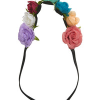 Pretty Multi-Flower Headwrap | Wet Seal
