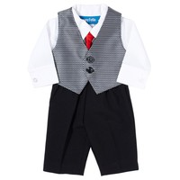3pc Vest Set with Tie preemie 345628214 | Matching Sets | Baby Boy Clothes | Clothing | Burlington Coat Factory
