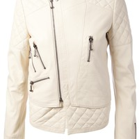 PHILIPP PLEIN quilted biker jacket