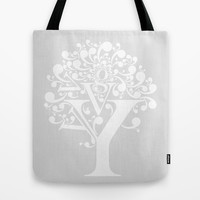 g tree Tote Bag by Miranda J. Friedman