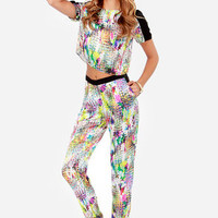 Fancy Trance Multi Print Harem Pants
