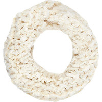 CREAM ITALIAN BORG SNOOD
