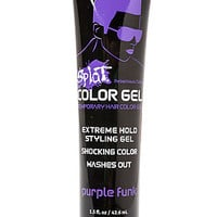 The Splat Washable Hair Color Gel in Purple Funk