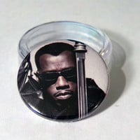 Comic Book 1.5 Button// Blade
