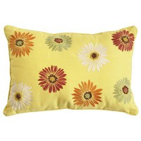 Daisy Oblong Pillow