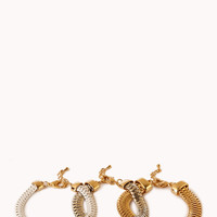 Sleek Gradated Bracelet Set