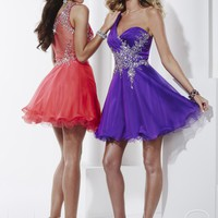 Hannah S 27820 One Shoulder Dress